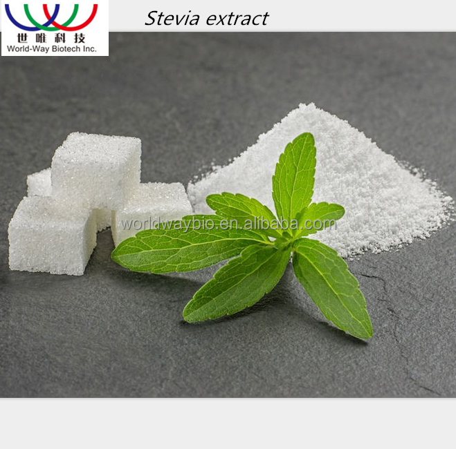 Free sample ! China 16 years factory bulk HPLC sweetener stevia leaf extract powder reb a