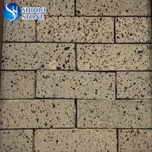 popular lava stone bricks for garden roadway