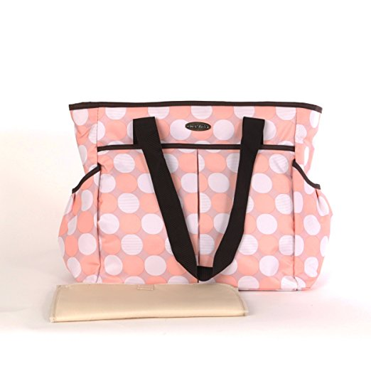 alibaba China wholesale portable fashion travel wet diaper bag with a changing pad
