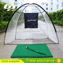 Outdoor Golf practice driving and chipping nets for backyard golf practice