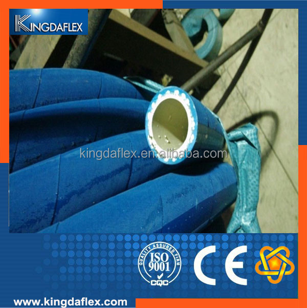 China Manufacture Sanitary Fabric Braided Food Grade Rubber Hose