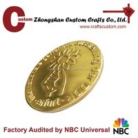 custom blank antique metal coins