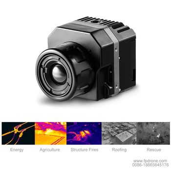 HIgh Resolution thermal security camera infrared Thermal gimbal camera hot Visual professional drone thermal camera