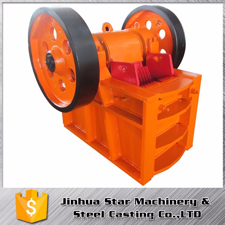 Stone pit long lasting OEM pe 150x250 jaw crusher