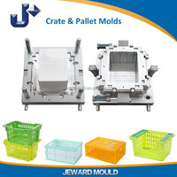 Low Cost High Quality Injection Vegetable Crate Mold