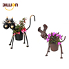 Chinese Supplier Iron Planter Decor, Garden Cat Planter