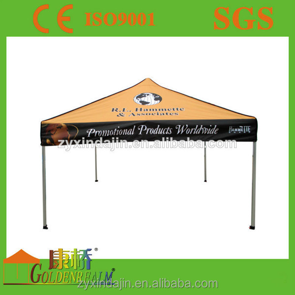 Best selling street fair commercial event folding gazebo with hihg duty fabric top cover for sale