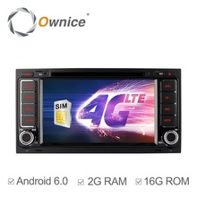 Ownice C500 Android 6.0 Quad Core Car DVD Player for VW Touareg T5 Multivan Transporter Support 4G Lte DAB TPMS DTV