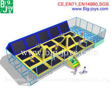 High quality jump kids trampoline bed made in China