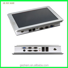 Chinese 12.1 Fanless Panel PC with Intel Celeron M Processor