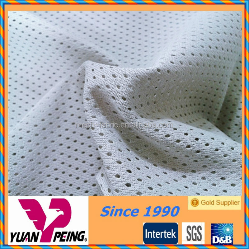 Cheap DTY Poly Mesh Fabric For Clothing