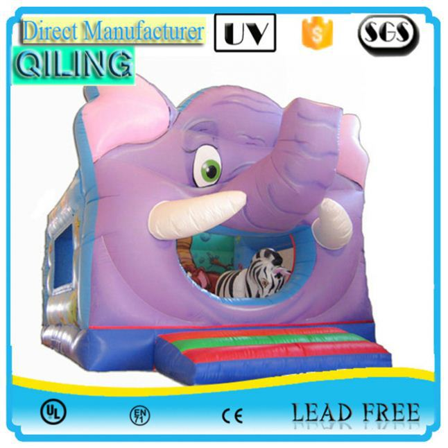 Promotional party game elephant inflatable jumping animal