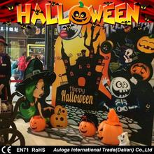 Professional decoration halloween large plastic pumpkins with great price