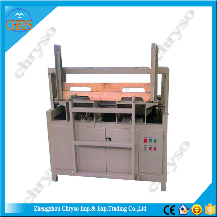 US wooden pallet automatic wooden pallets notching machine with Alloy blades