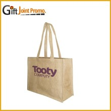 Customized LOGO Jute Tote Bag