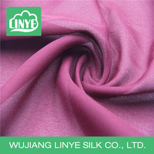 China wholesale poly double crepe fabric, party dress material