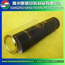Cardboard Leather Wine Carrier Box cardboard tube for bottles