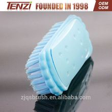 2017 promotional Cleaning plastic clothes scrubbing brush small floor scrubber