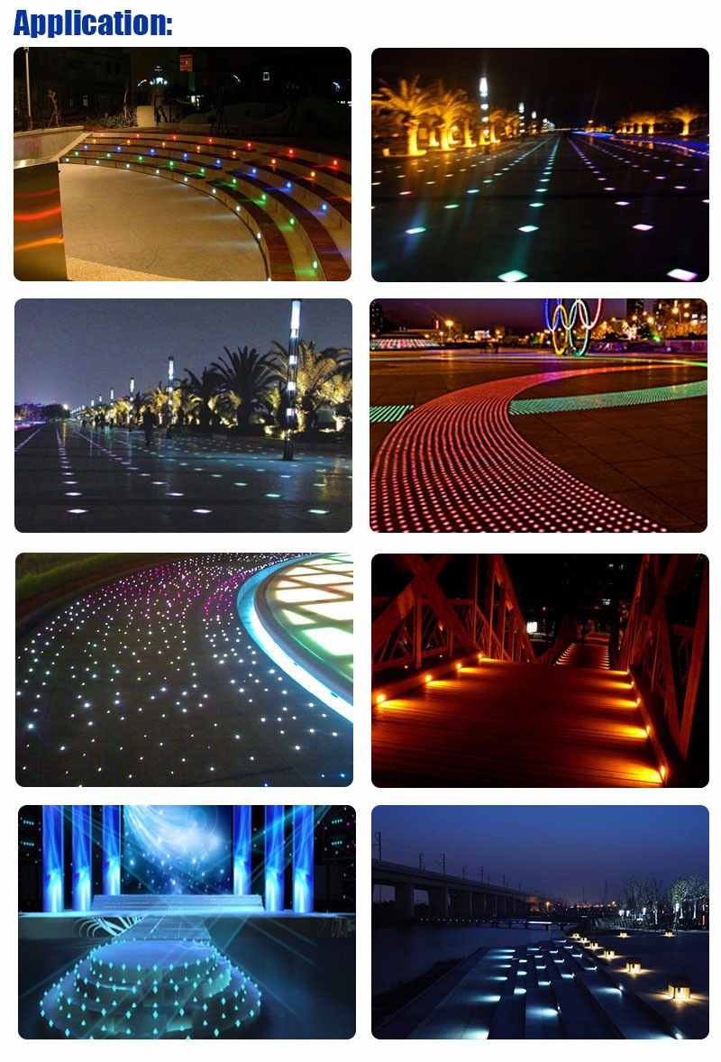 High quality led underground lighte 6W IP67 Inground Lamp Path light in Square, Garden