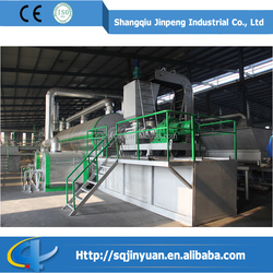 2015 best design processing Used Tire Continuous Recycling Machine