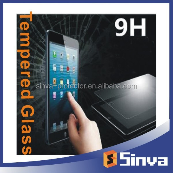 Free sample 0.33mm Premium Tempered Glass Screen Protector for ipad6/ipad5/ ipad air