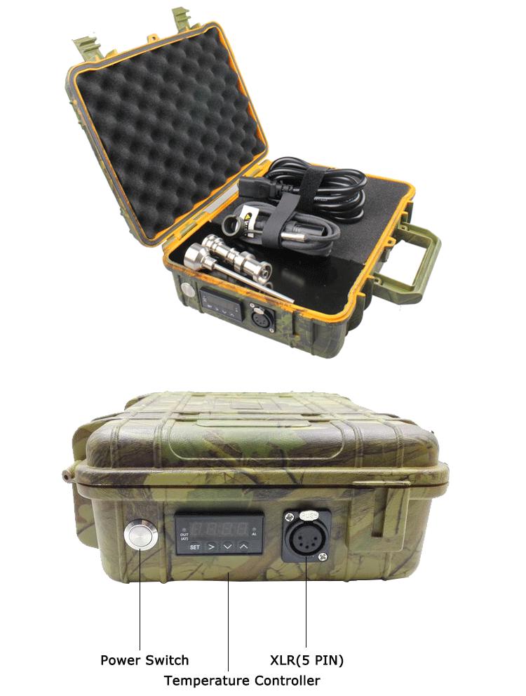 ถูก NAIL-EG AC/DC85 ~ 260โวลต์ABSบุหรี่อิเล็กทรอนิกส์ที่มีPIDควบคุมอุณหภูมิ