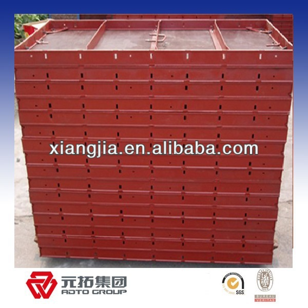 column steel formwork size for construction