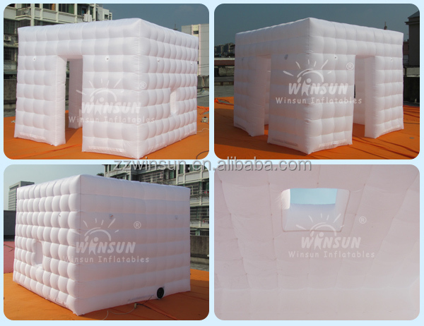 Outdoor use inflatable photo booth for sale