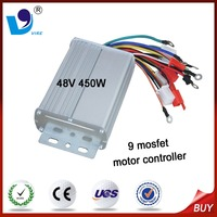 Electric Motorcycle Controller 450W 48V Brushless DC Motor