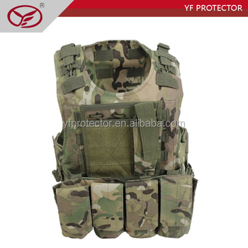 Body Armor With molle pouch tactical vest Kevlar Bulletproof Vest