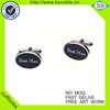 High quality wedding souvenir custom enamel cufflinks