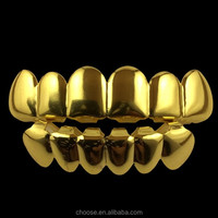 2017 Gold Plated Hip Hop Jewelry