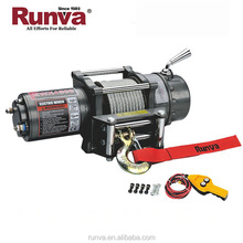 Runva Factory Sale DC 12V or 24V Power drive optional 4500lb winch