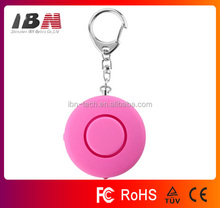 125 dB Personal Rape/Jogger/Student Emergency Alarm with LED Light, High quality Personal alarm
