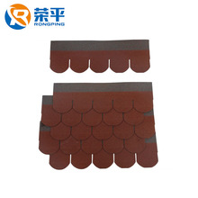 Various cheap price Africa Fish-Scale asphalt shingles roofing tile
