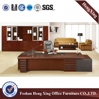 High end veneer executive office table & luxury office furniture (HX-RD6018)
