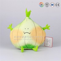 ODM lovely Fruits and vegetables fruits and vegetables plush toy doll garlic, peas. Sydney, cherry