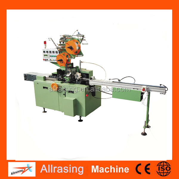 Cosmetic cellophane packaging machine 3D film cellophane packaging