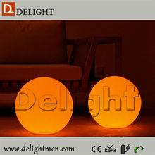 Hot sale lighting up remote control moon illuminated plastic led balls wedding event
