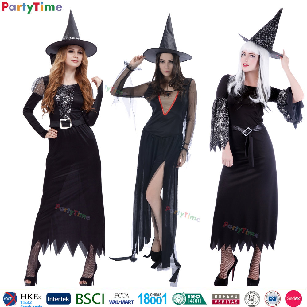 partytime brand 2016 china wholesale women witch halloween costume