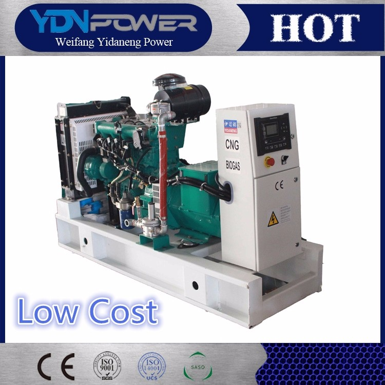 Yidaneng 10kw 12.5kva natural gas turbine generator set for sale