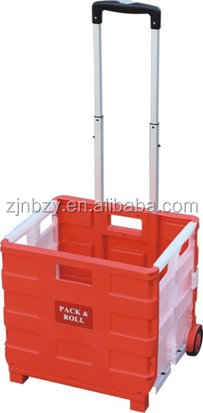 4 all plastic shopping cart