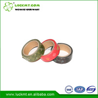 No Residue Colorful Washi Masking Tape Rice Paper