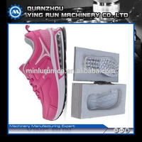 lady sport shoe with air cushion mould pu air cushion mould