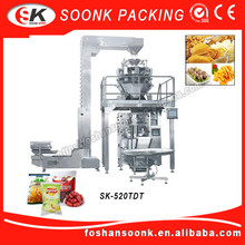 Automatic Pouch Milk Peanut Packing Peanuts Machine
