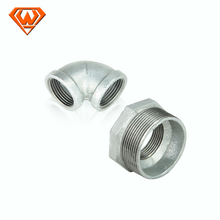 bake galvanized malleable iron pipe fittings reducing hex bushing