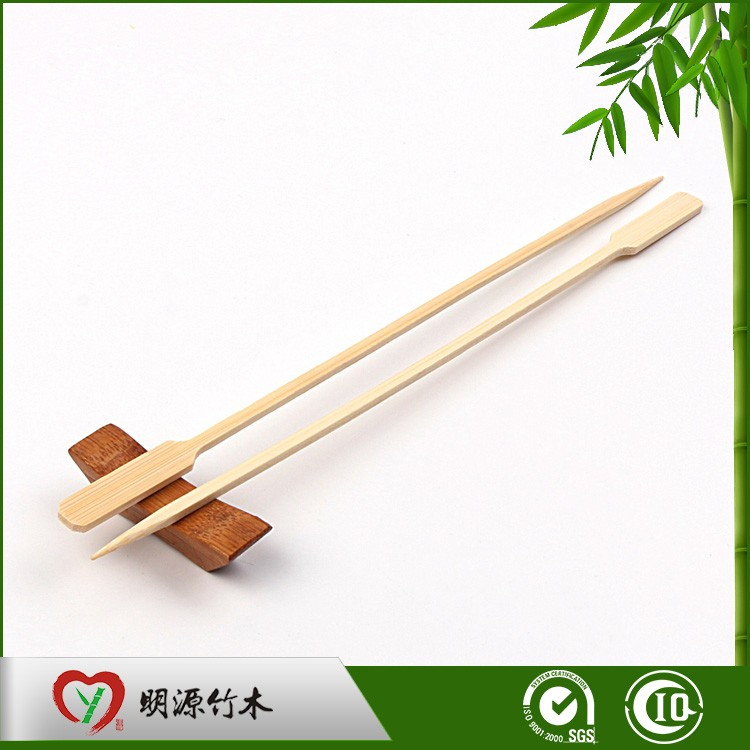 Disposable bbq bamboo sticks for kebab in grill tool