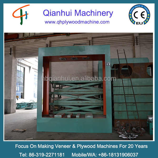 One of the most popular cold press machine or prepress for making plywood