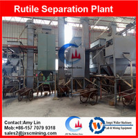 rutile concentration machine electrostatic separator