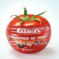 70g Tin Packing Pure Gina's Tomato Paste,Red Top Tomato
